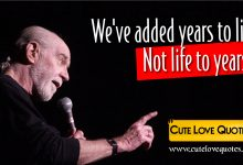 Photo of George Carlin Quotes – Sayings About Life Short