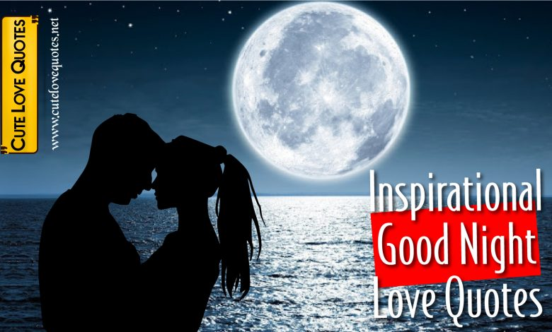 Inspirational Good Night Love Quotes