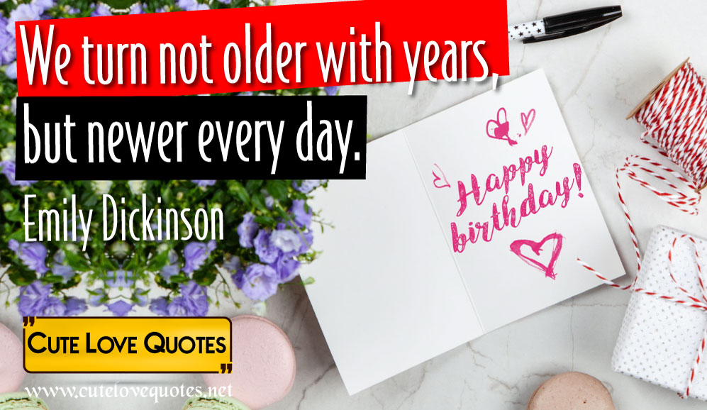 95 Happy Birthday Quotes