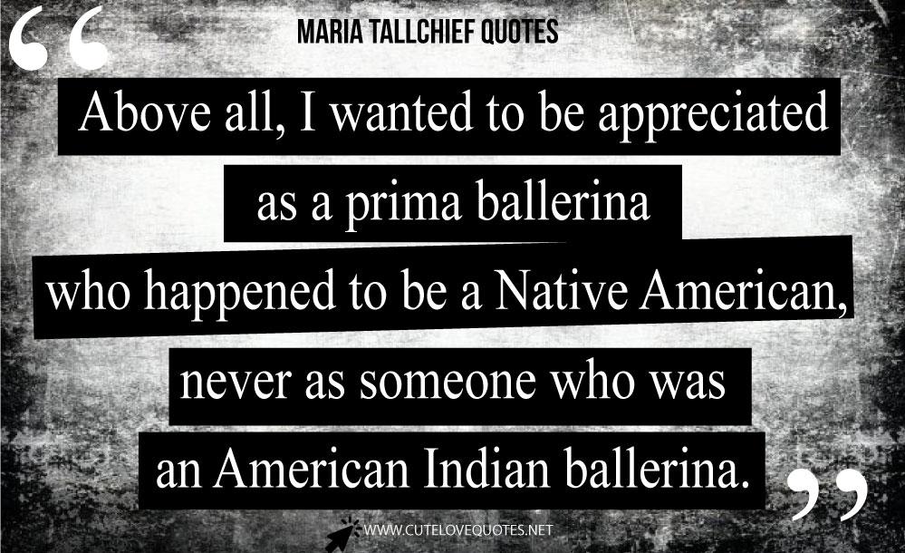 Maria Tallchief Quotes